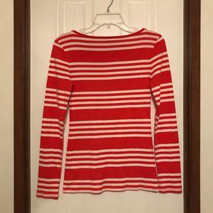 Old Navy Tops - Old Navy Striped Long-Sleeve Tee Size S